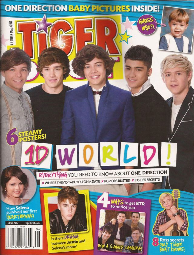 One Direction 2012 Posters 2012 TIGER BEAT Magazi...