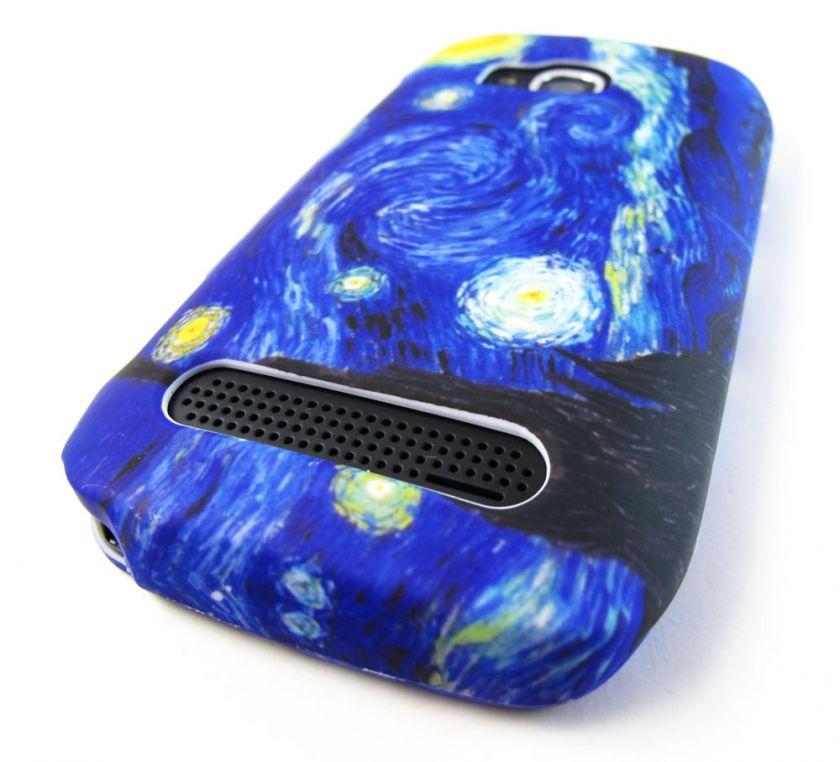 NIGHT HARD SNAP ON CASE COVER NOKIA LUMIA 710 TMOBILE PHONE ACCESSORY