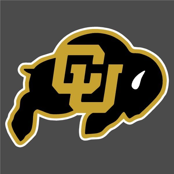Colorado Buffaloes Ralphie Auto Window Stickers Decals