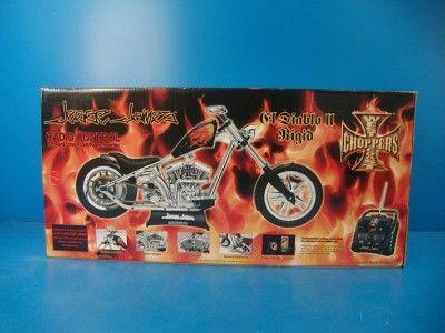 Jesse James West Coast Choppers R/C El Diablo Rigid 2 II Motorcycle