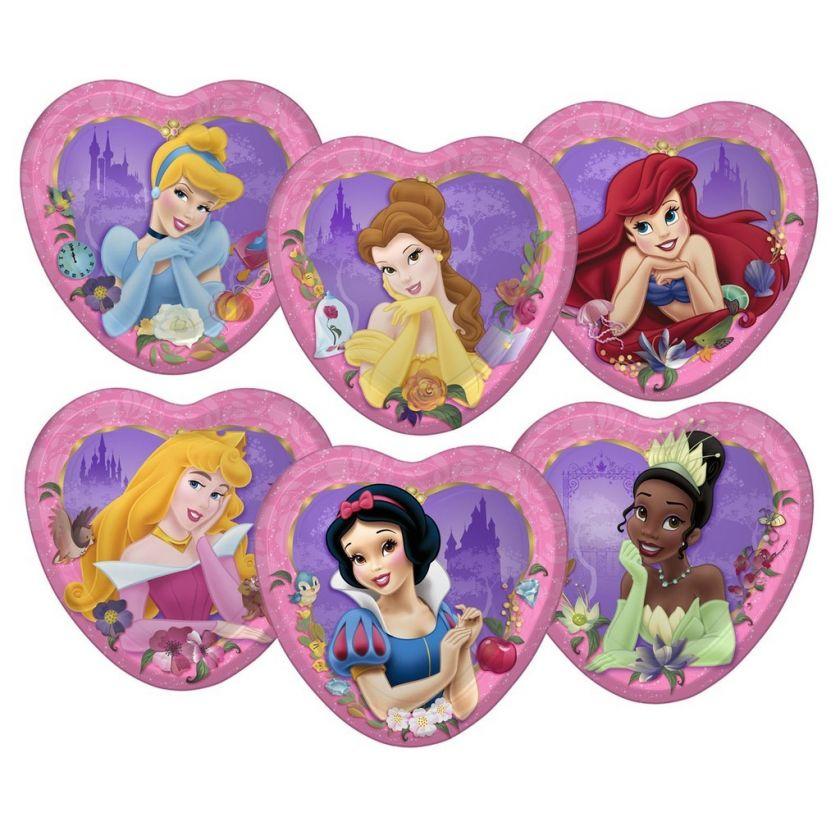 Disney Princess Birthday Party Plates, Cups YOU PICK